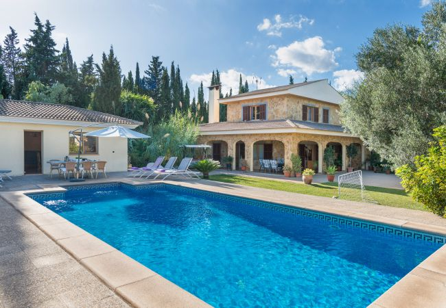 Ferienhaus in Sa Pobla - Sunset Villa Limonera